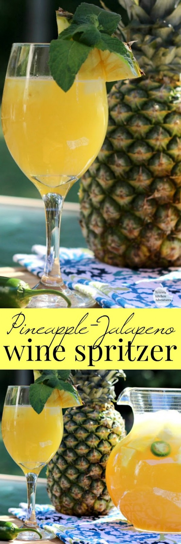 Get the recipe Pineapple-Jalapeno Wine Spritzer @recipes_to_go