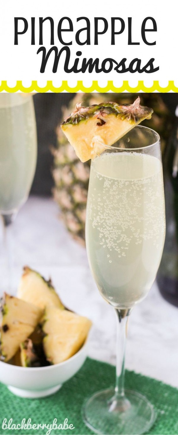 Get the recipe Pineapple Mimosas @recipes_to_go