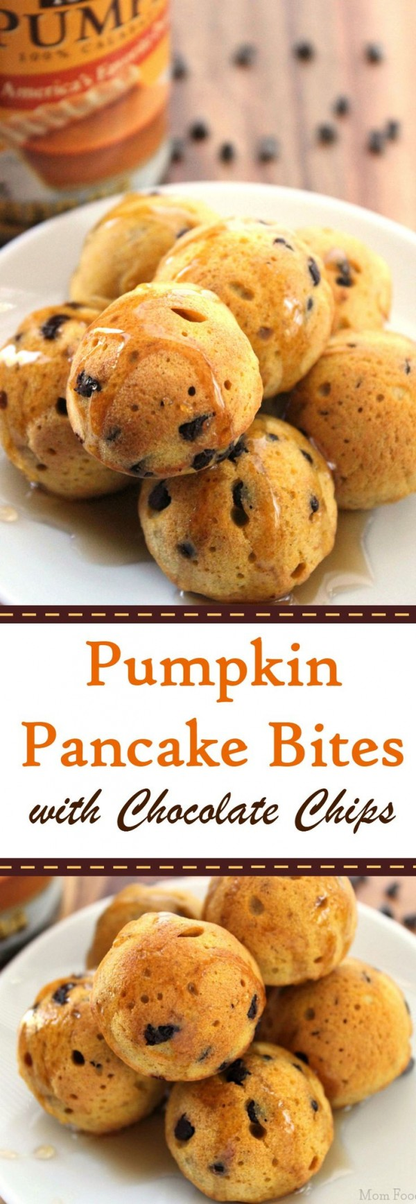 Get the recipe Pumpkin Pancakes Bites with Chocolate Chips @recipes_to_go