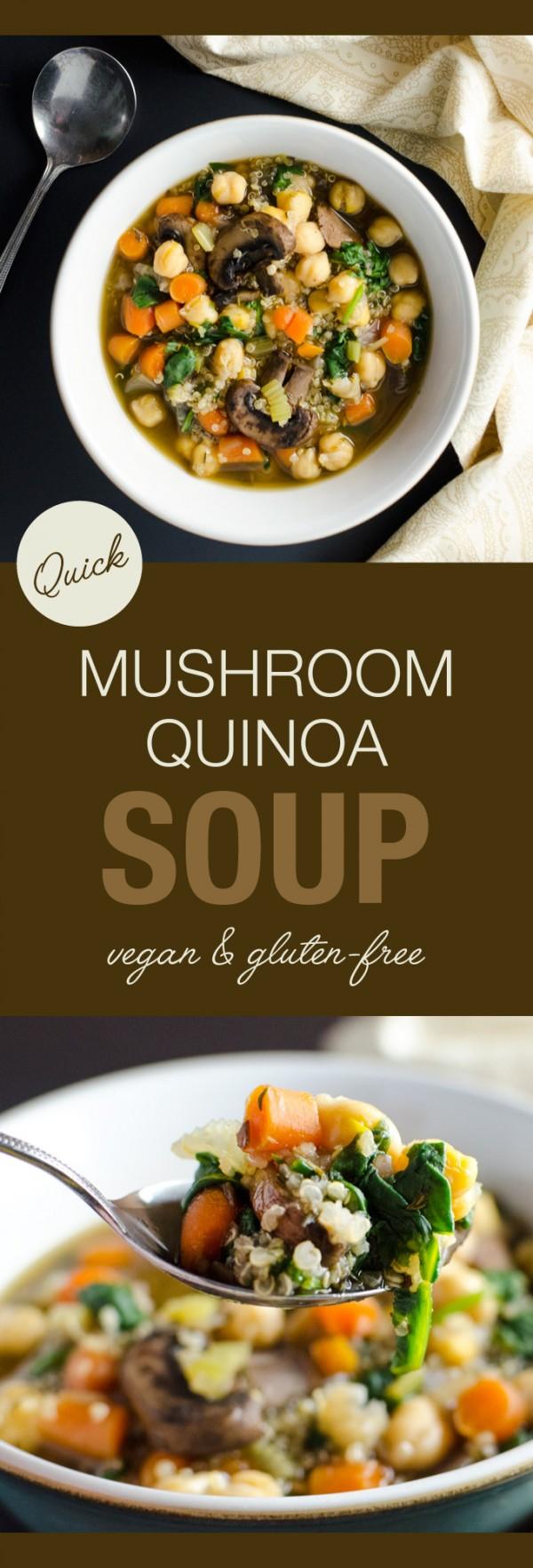 Get the recipe Mushroom Quinoa Soup @recipes_to_go