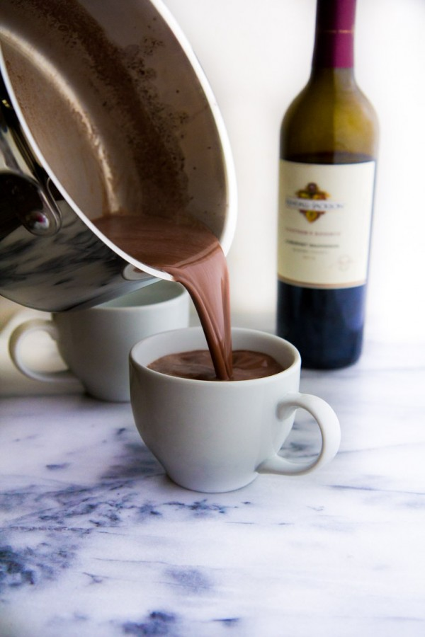Get the recipe Red Wine Hot Chocolate @recipes_to_go