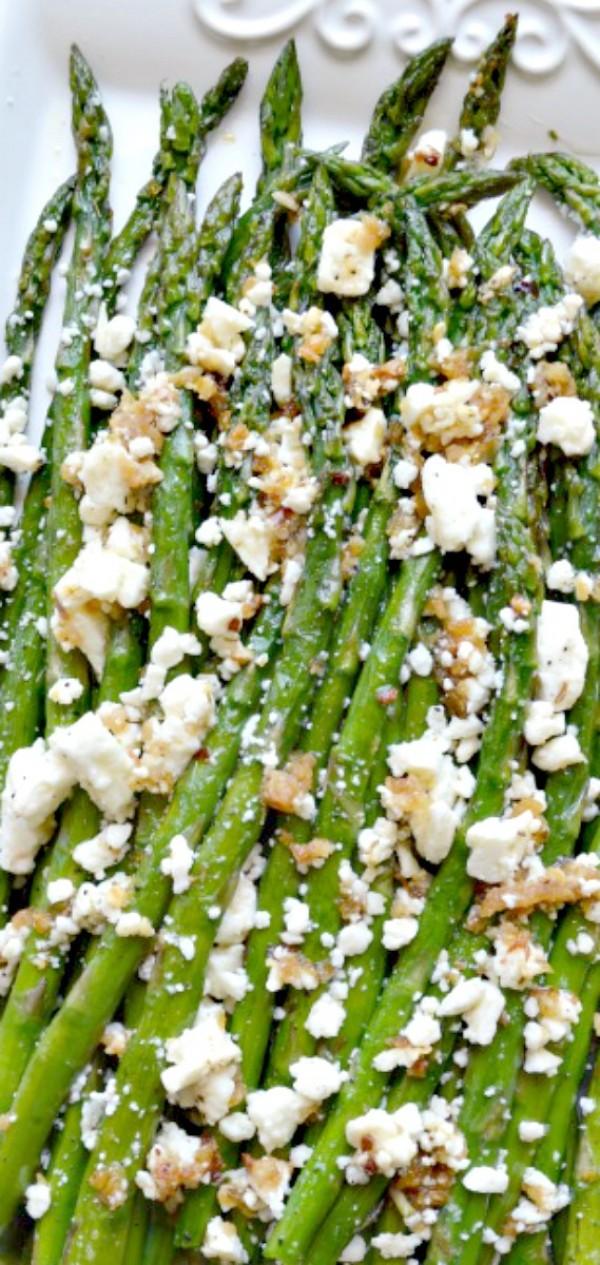 Get the recipe Roasted Garlic Asparagus with Feta @recipes_to_go