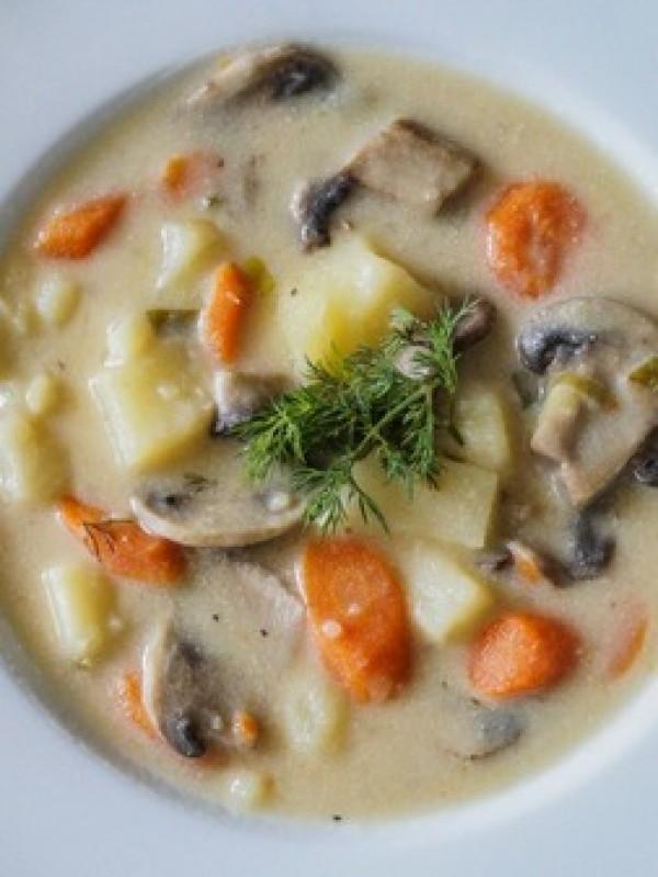Get the recipe Russian Mushroom and Potato Soup @recipes_to_go