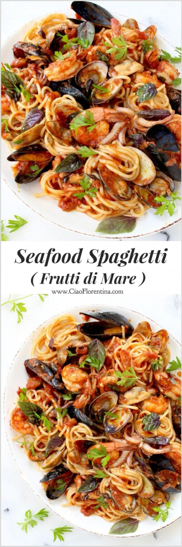 Get the recipe Seafood Spaghetti @recipes_to_go