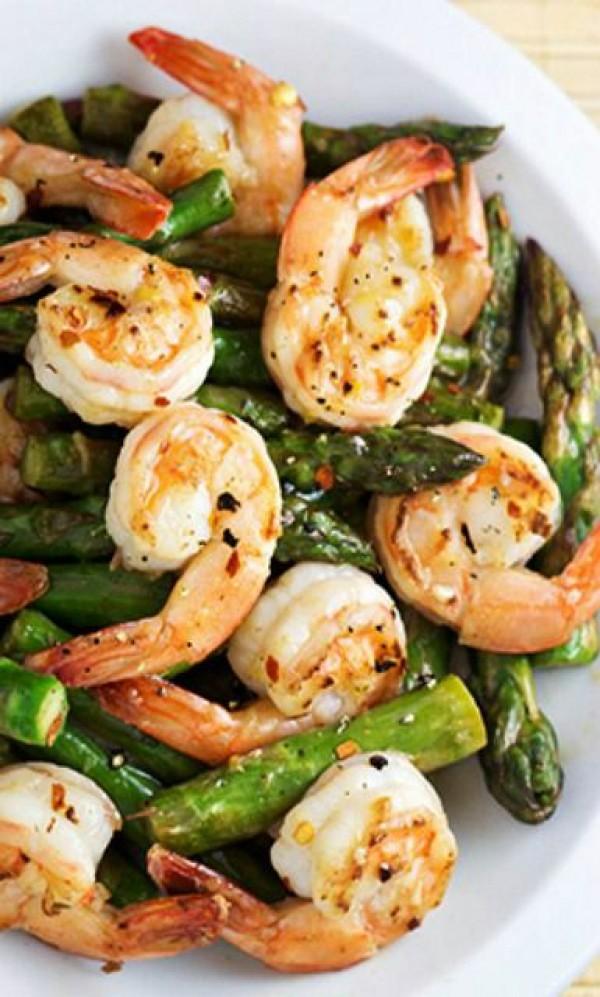 Get the recipe Shrimp and Asparagus Stir Fry with Lemon Sauce Recipe @recipes_to_go