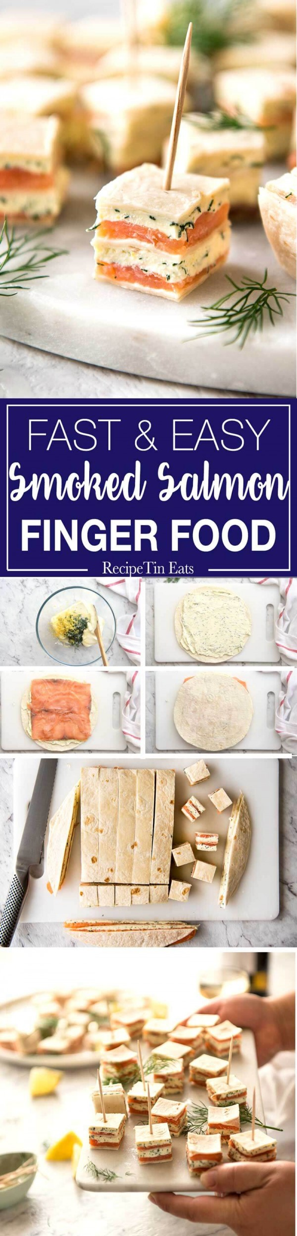 Get the recipe Fast and Easy Smoked Salmon Finger Food @recipes_to_go
