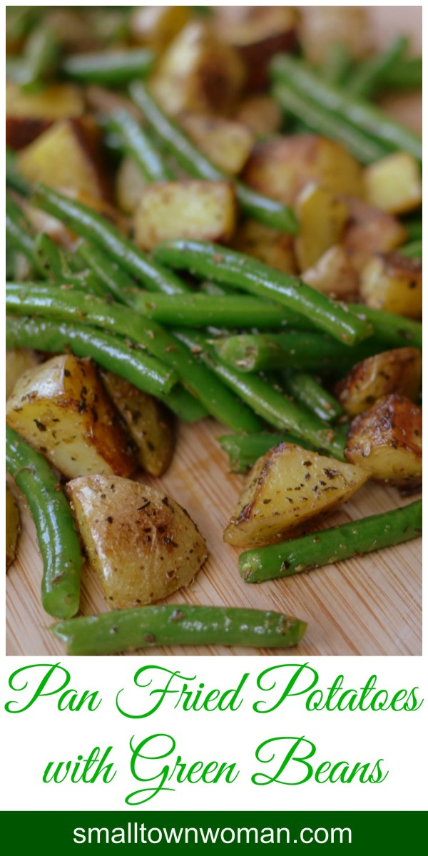 Get the recipe Pan Fried Potatoes with Green Beans @recipes_to_go