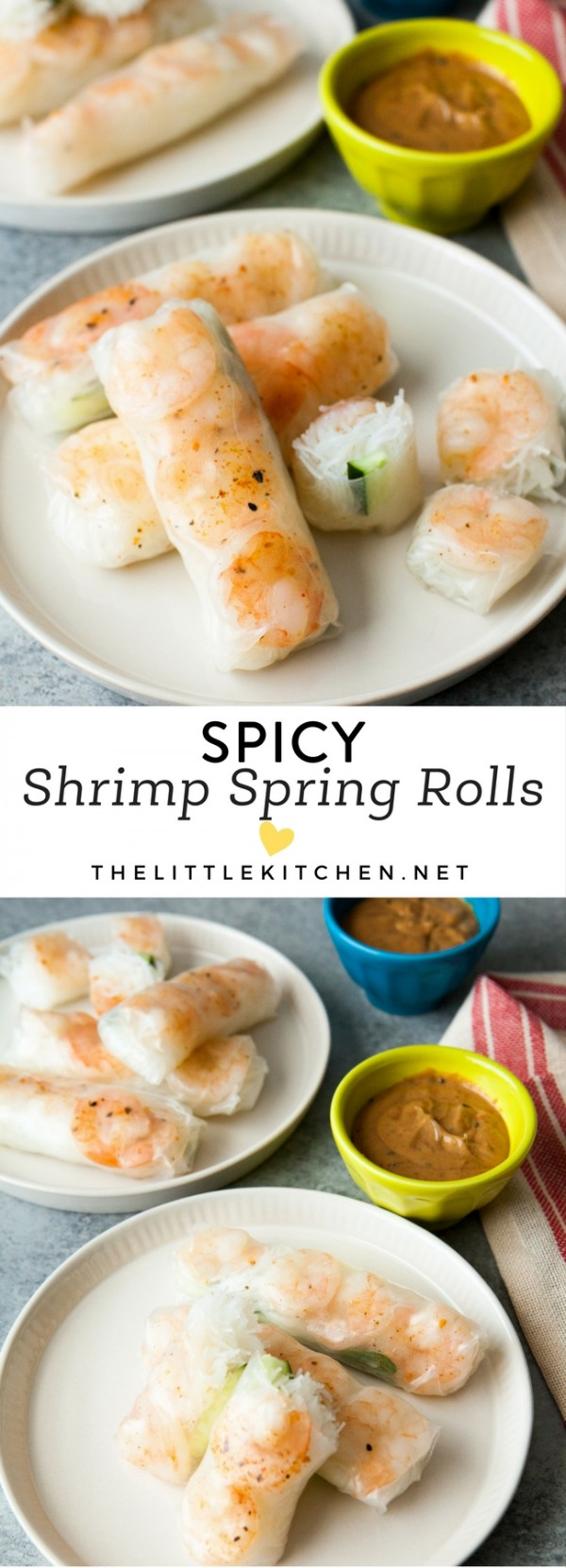 Get the recipe Spicy Shrimp Spring Rolls @recipes_to_go