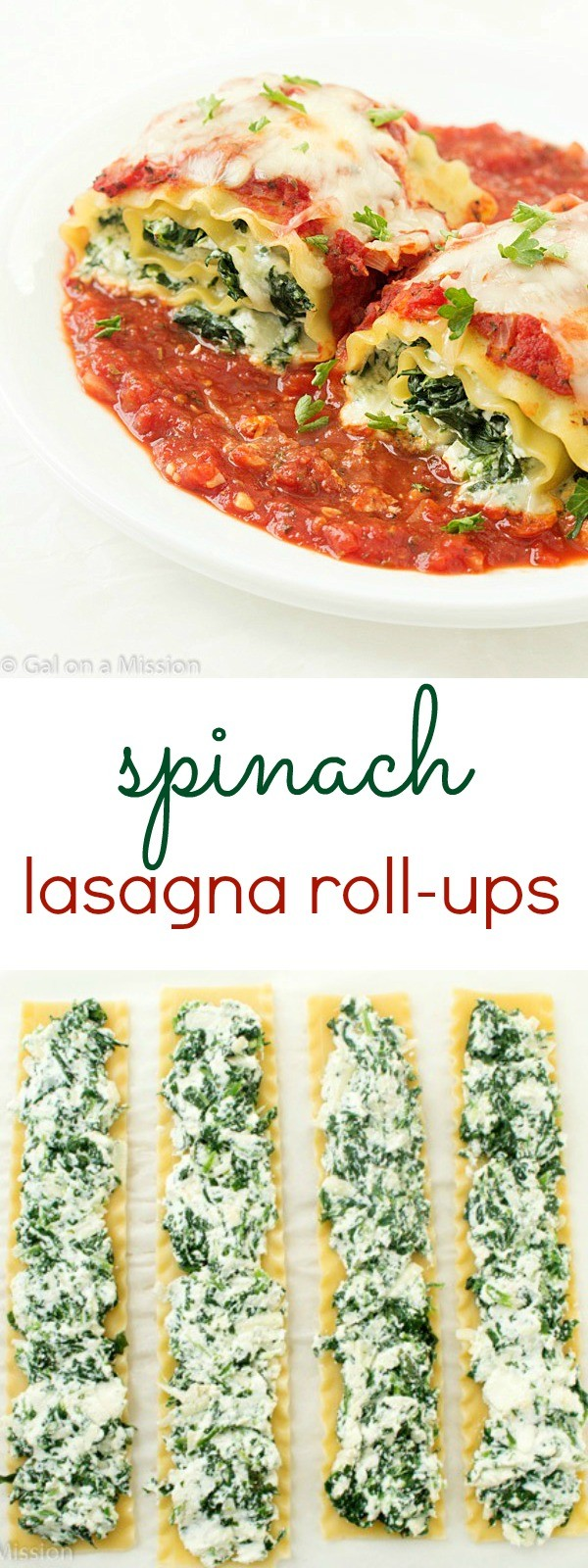 Get the recipe Spinach Lasagna Roll-Ups @recipes_to_go