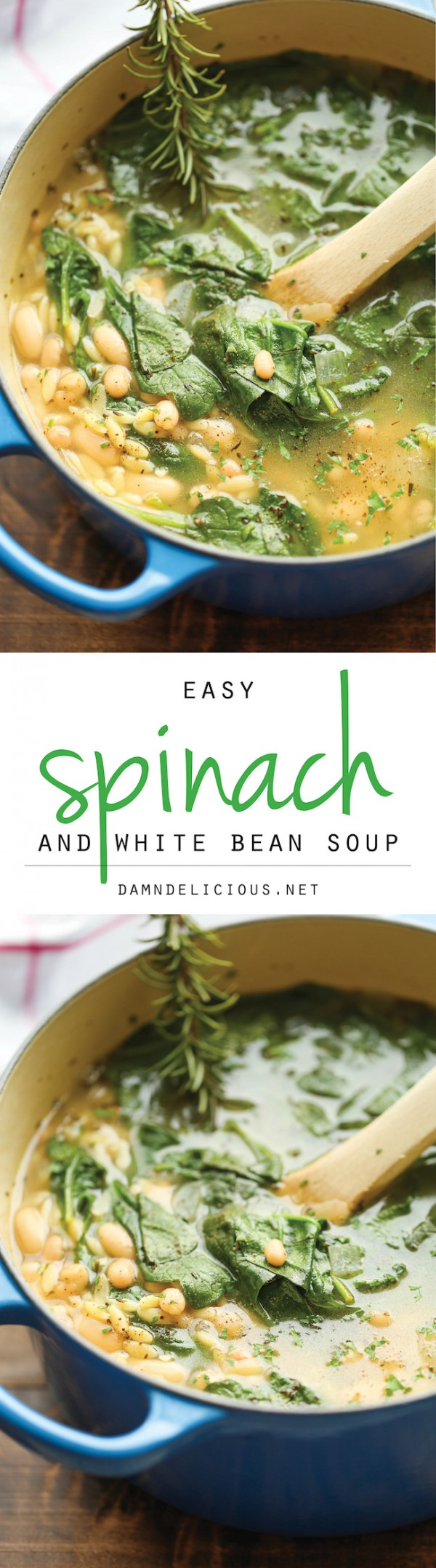 Get the recipe Spinach and White Bean Soup @recipes_to_go