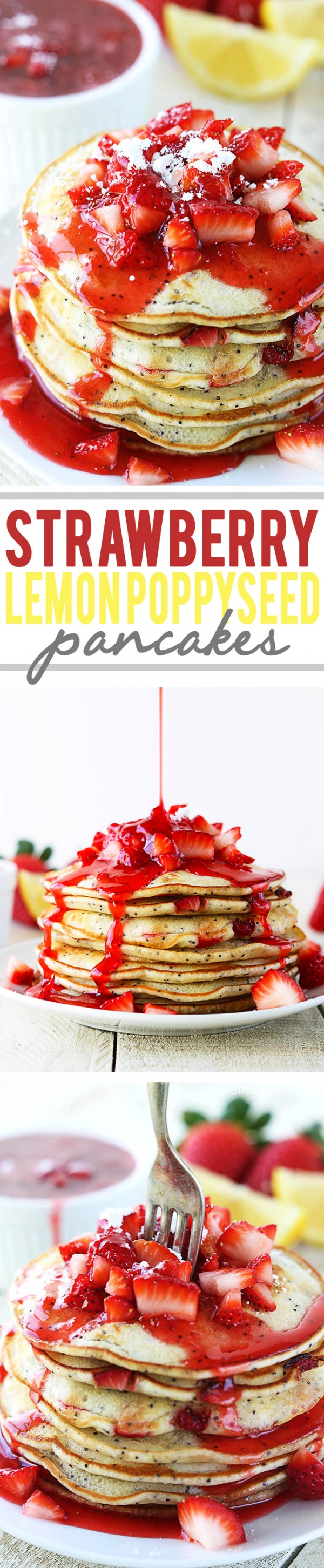Get the recipe Strawberry Lemon Poppyseed Pancakes @recipes_to_go