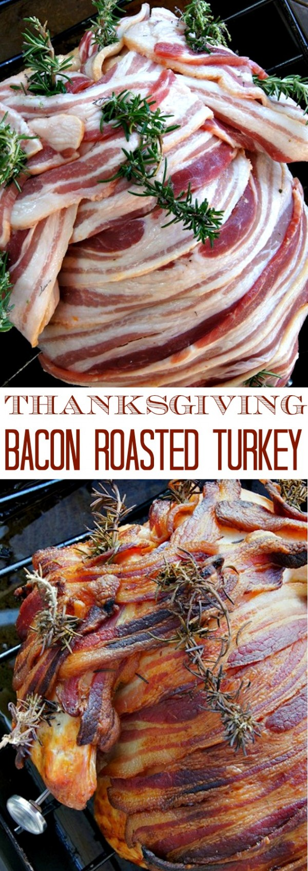 Get the recipe Thanksgiving Bacon Roasted Turkey @recipes_to_go
