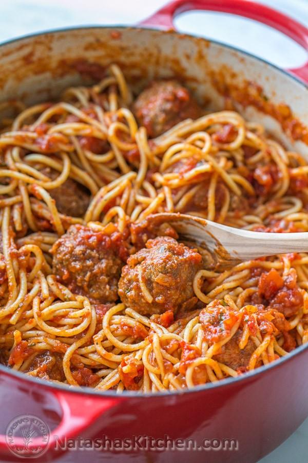 Get the recipe Spaghetti and Meatballs Recipe @recipes_to_go