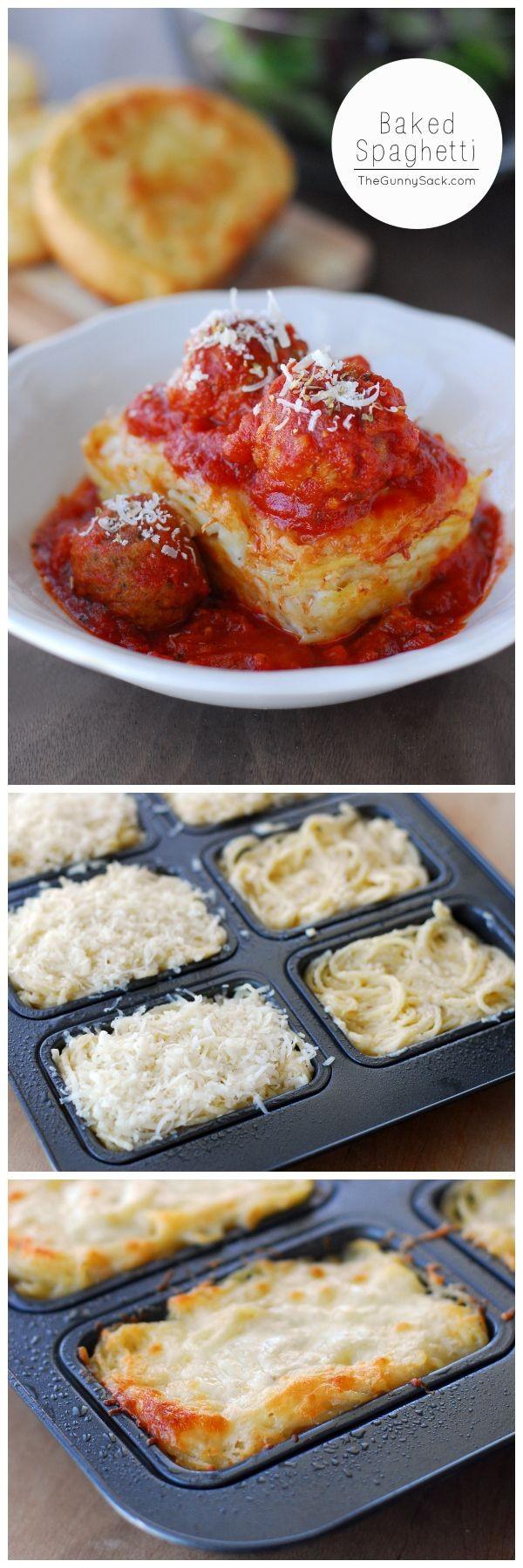 Get the recipe Baked Spaghetti @recipes_to_go