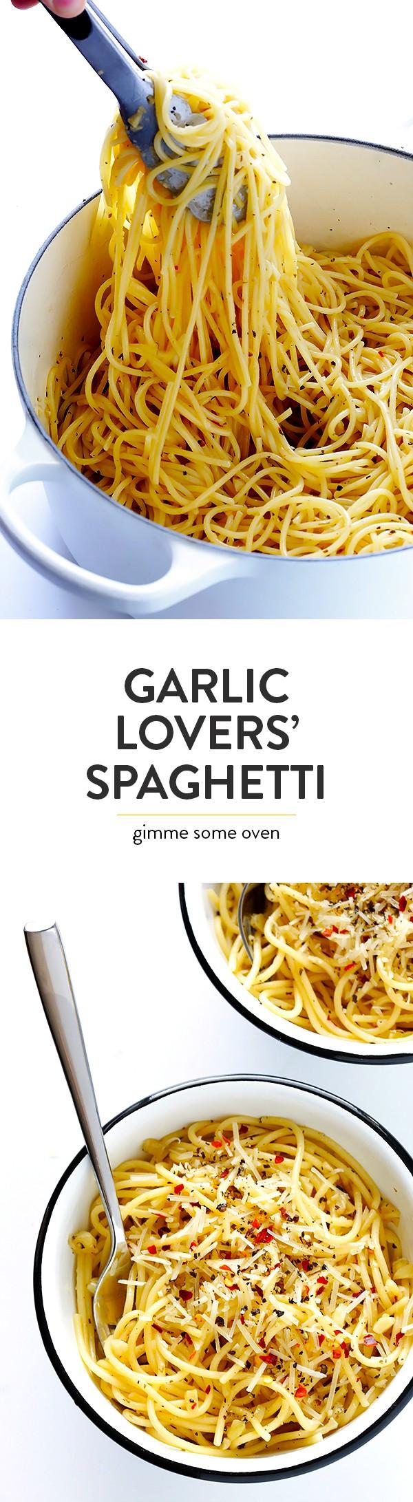 Get the recipe Garlic Lovers Spaghetti @recipes_to_go