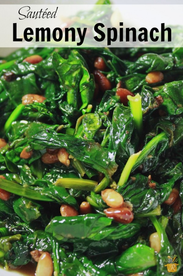 Get the recipe Sauteed Lemony Spinach @reciepes_to_go