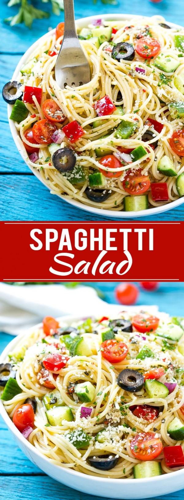 Get the recipe Spaghetti Salad @recipes_to_go