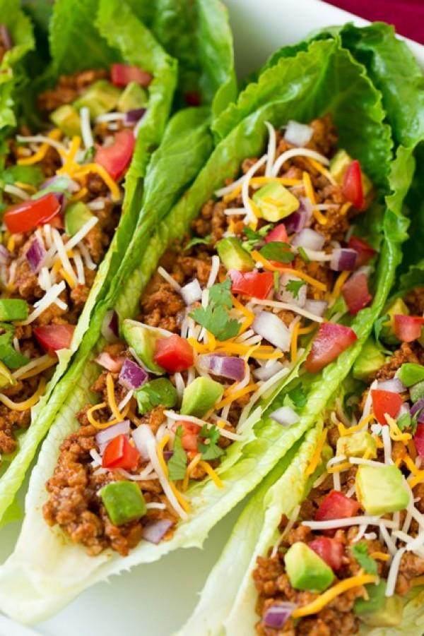 Get the recipe Turkey Taco Lettuce Wraps @recipes_to_go