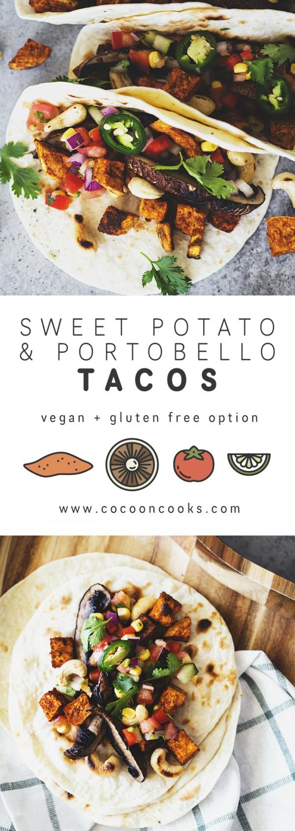 Get the recipe Sweet Potato and Portobello Tacos @recipes_to_go