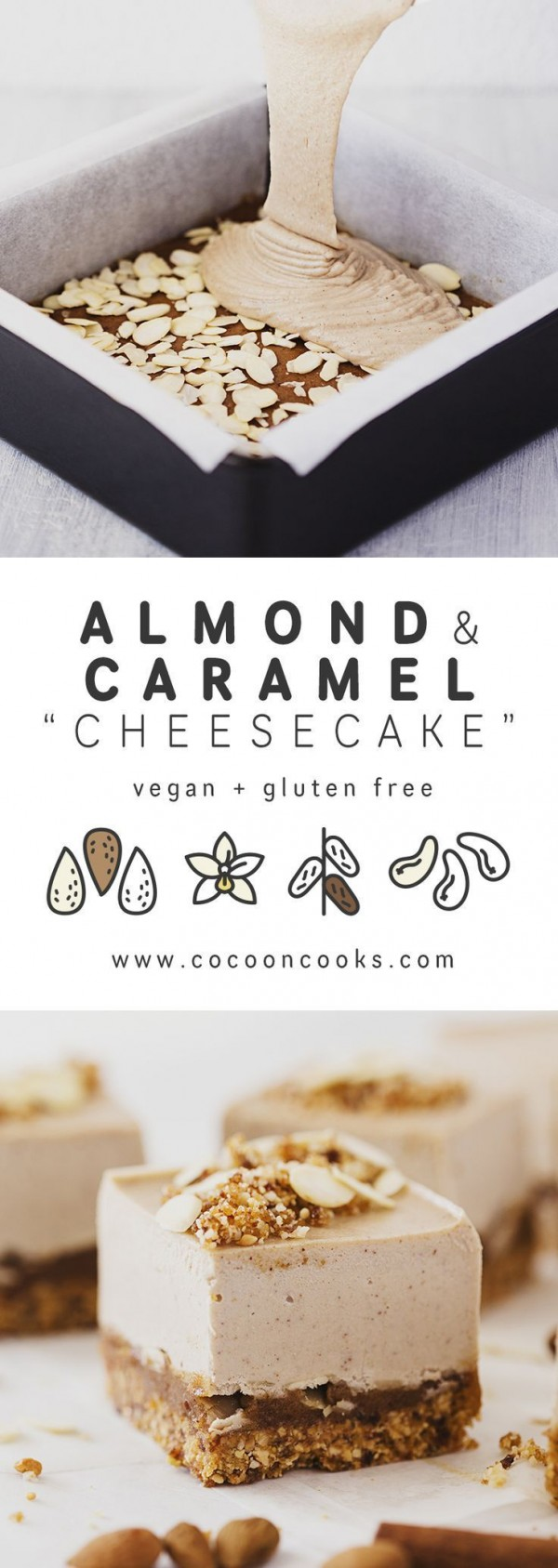 Get the recipe Almond and Caramel Cheesecake @recipes_to_go
