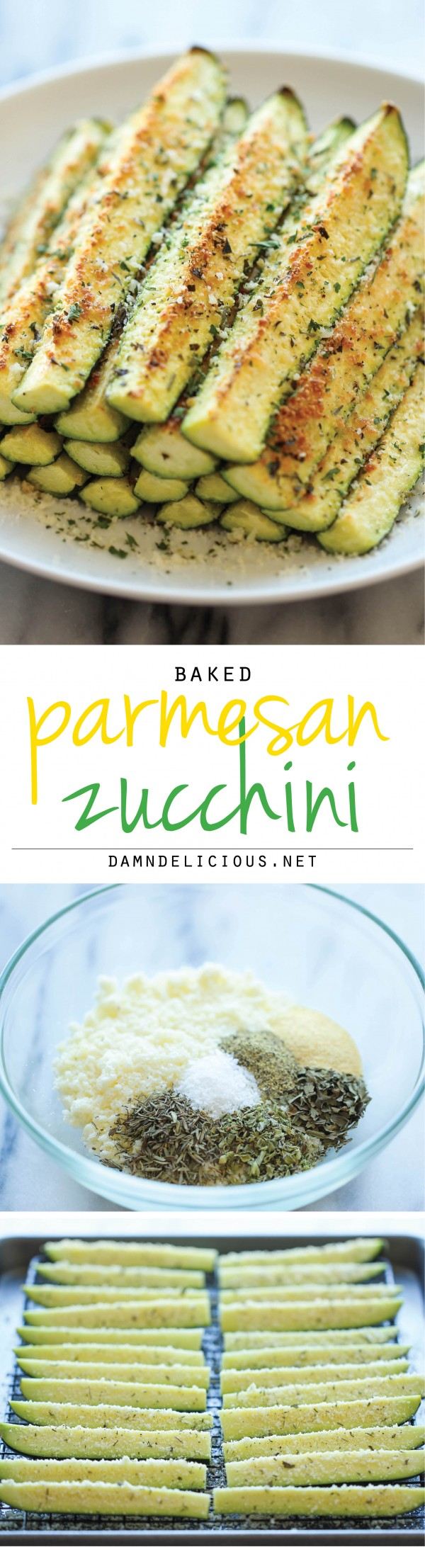 Get the recipe Baked Parmesan Zucchini @recipes_to_go