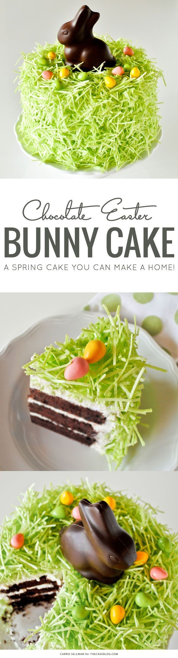 Get the recipe Chocolate Easter Bunny Cake @recipes_to_go