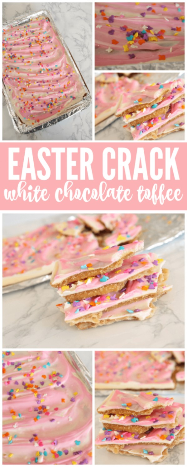 Get the recipe Easter Crack White Chocolate Toffee @recipes_to_go