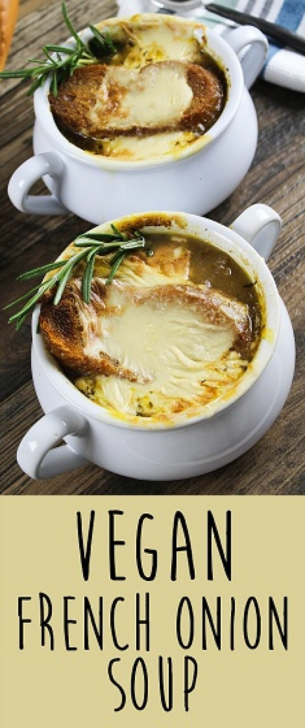 Get the recipe Vegan French Onion Soup @recipes_to_go