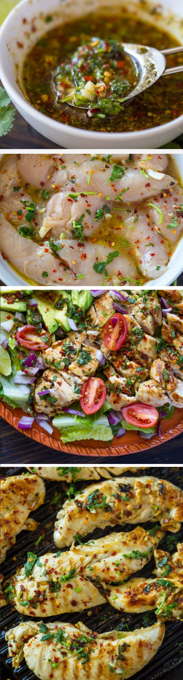 20 Unforgettable Chicken Recipes for a Romantic Dinner for Two - Get the recipe Grilled Chili Cilantro Lime Chicken @recipes_to_go