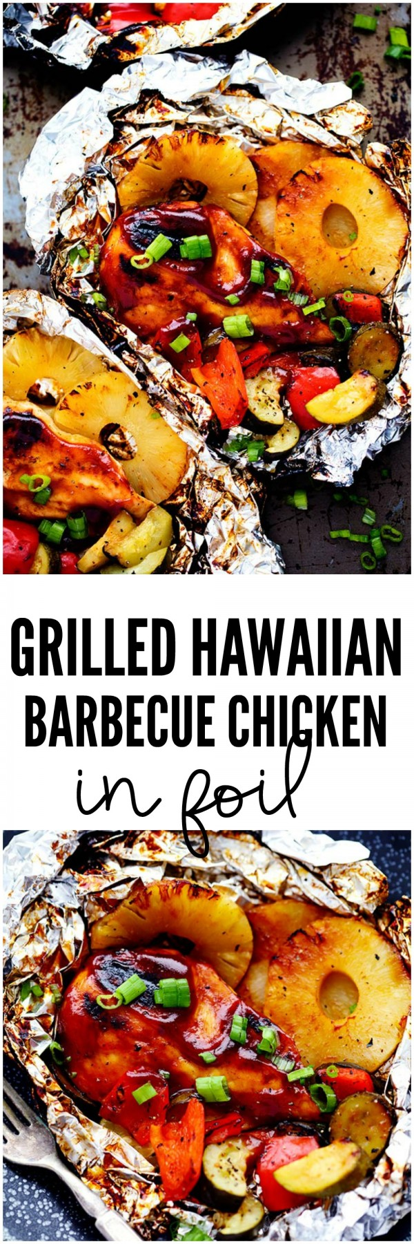 20 Unforgettable Chicken Recipes for a Romantic Dinner for Two - Get the recipe Grilled Hawaiian Barbecue Chicken @recipes_to_go