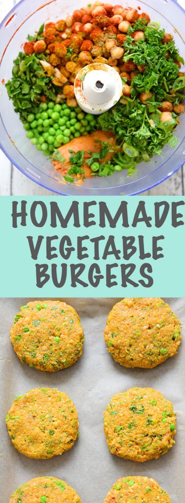 Get the recipe Homemade Vegetables Burgers @recipes_to_go