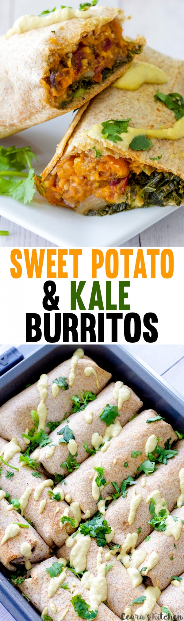 Get the recipe Sweet Potato and Kale Burritos @recipes_to_go