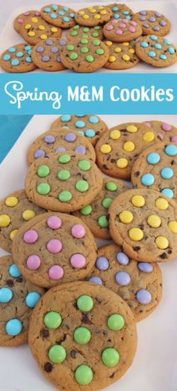 Get the recipe Spring M&M Cookies @recipes_to_go