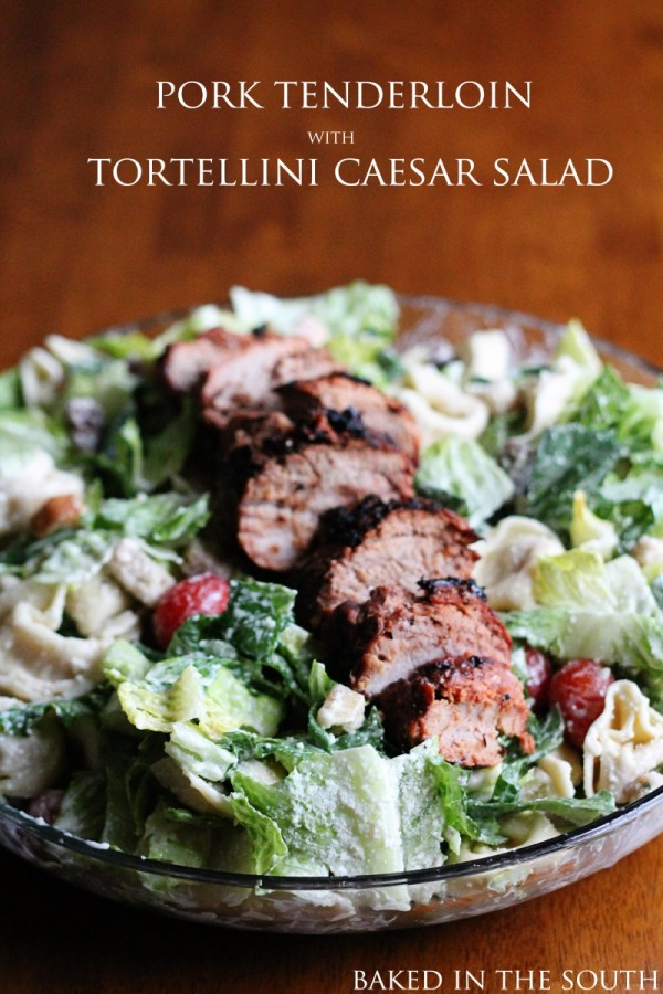 Get the recipe Pork Tenderloin with Tortellini Caesar Salad @recipes_to_go