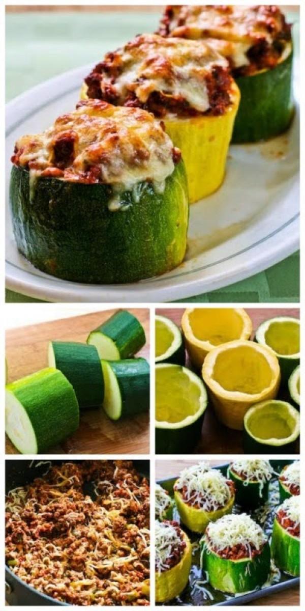 Get the recipe Meat Tomato and Mozzarella Stuffed Zucchini Cups @recipes_to_go
