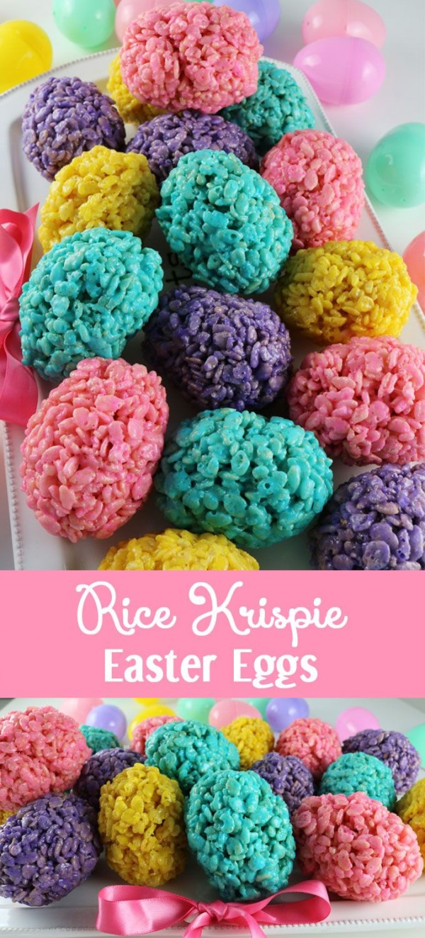 Get the recipe Rice Krispie Easter Eggs @recipes_to_go