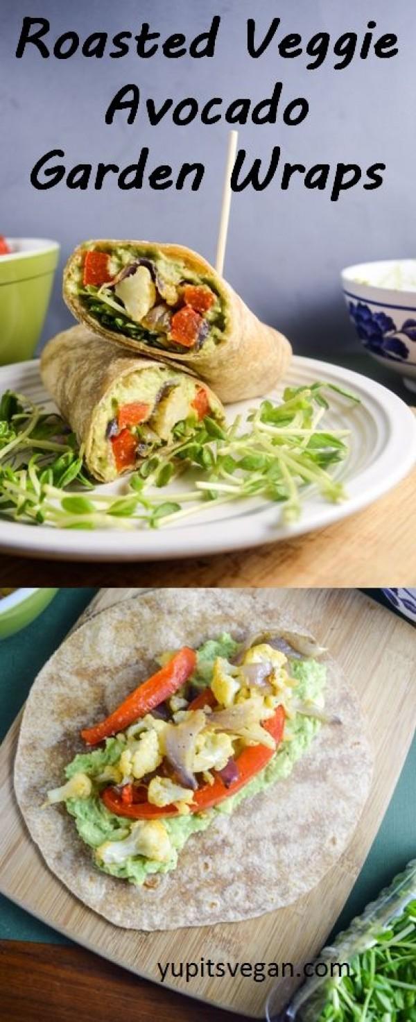 Get the recipe Roasted Veggie Avocado Garden Wraps @recipes_to_go