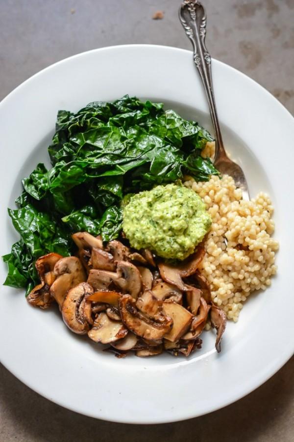 Get the recipe Super Vegan Bowl with Parsley Cashew Pesto @recipes_to_go