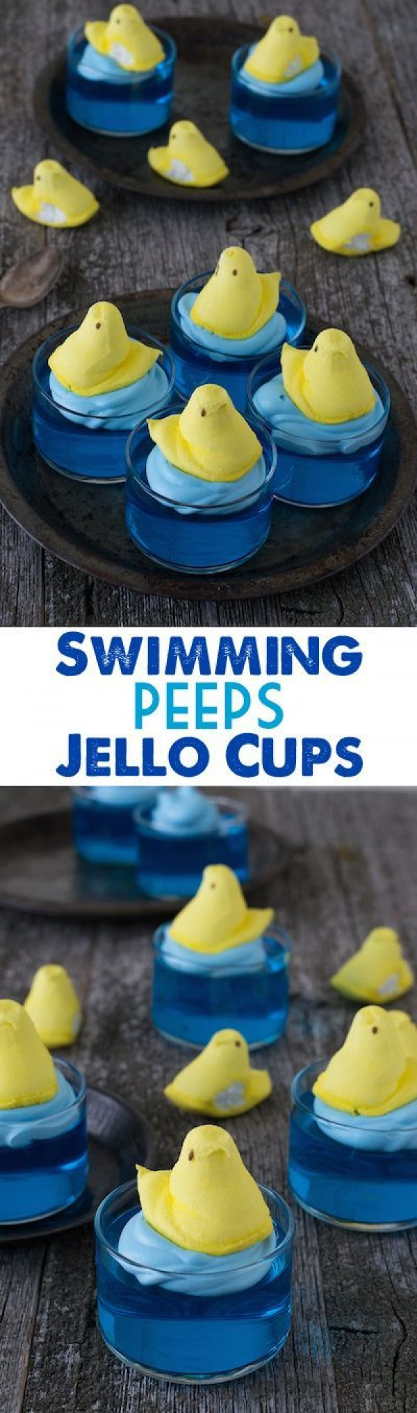 Get the recipe Swimming Peeps Jello Cups @recipes_to_go