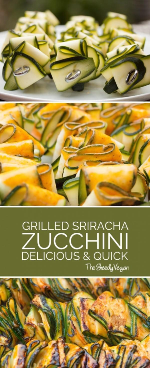 Get the recipe Grilled Sriracha Zucchini @recipese_to_go