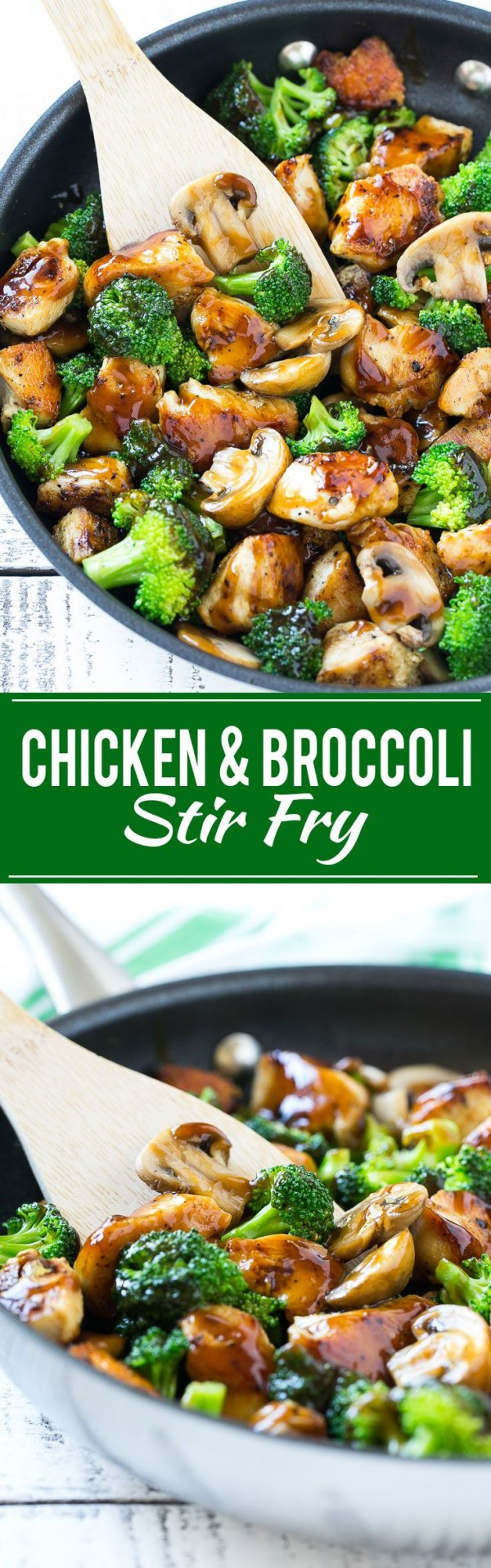 20 Unforgettable Chicken Recipes for a Romantic Dinner for Two - Get the recipe Chicken and Broccoli Stir Fry @recipes_to_go