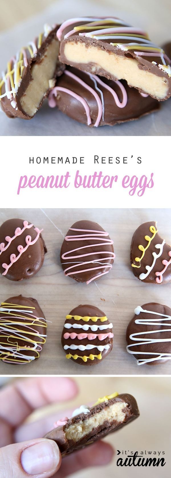Get the recipe Homemade Reese's Peanut Butter Eggs @recipes_to_go