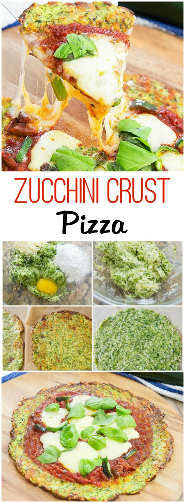 Get the recipe Zucchini Crust Pizza @recipes_to_go