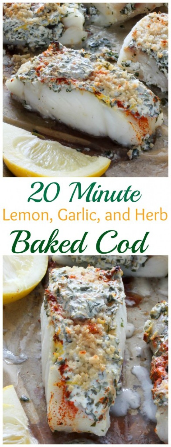 Get the recipe Lemon Garlic and Herb Baked Cod @recipes_to_go