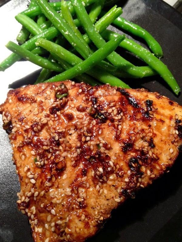 Get the recipe Asian Sesame Grilled Tuna Steak @recipes_to_go