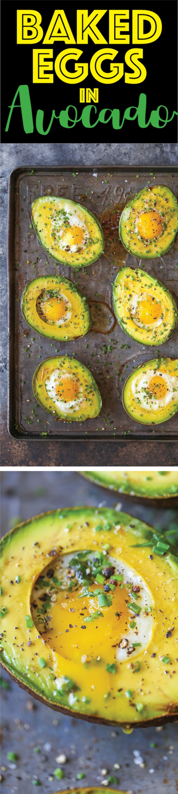 Get the recipe Baked Eggs in Avocado @recipes_to_go