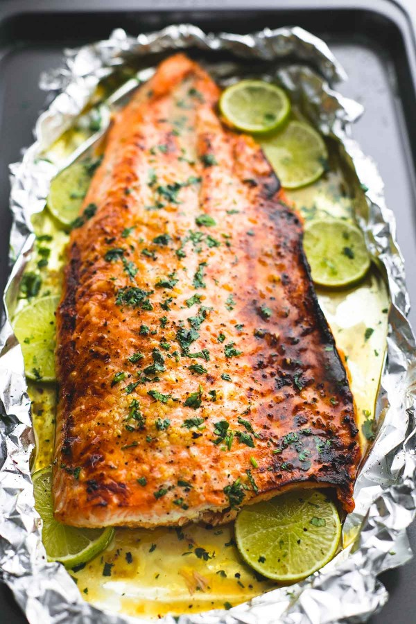 Get the recipe Baked Honey Cilantro Lime Salmon in Foil @recipes_to_go
