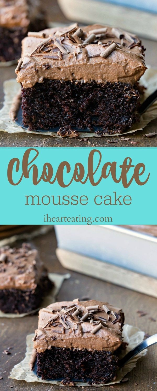 Get the recipe Chocolate Mousse Cake @recipes_to_go