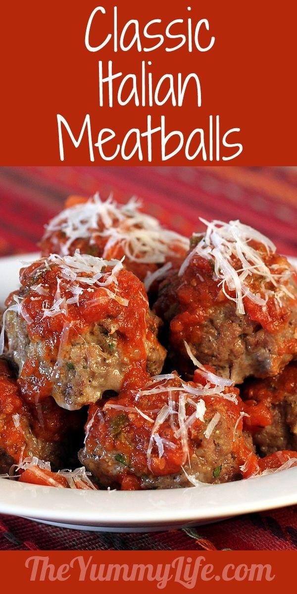 Get the recipe Classic Italian Meatballs @recipes_to_go
