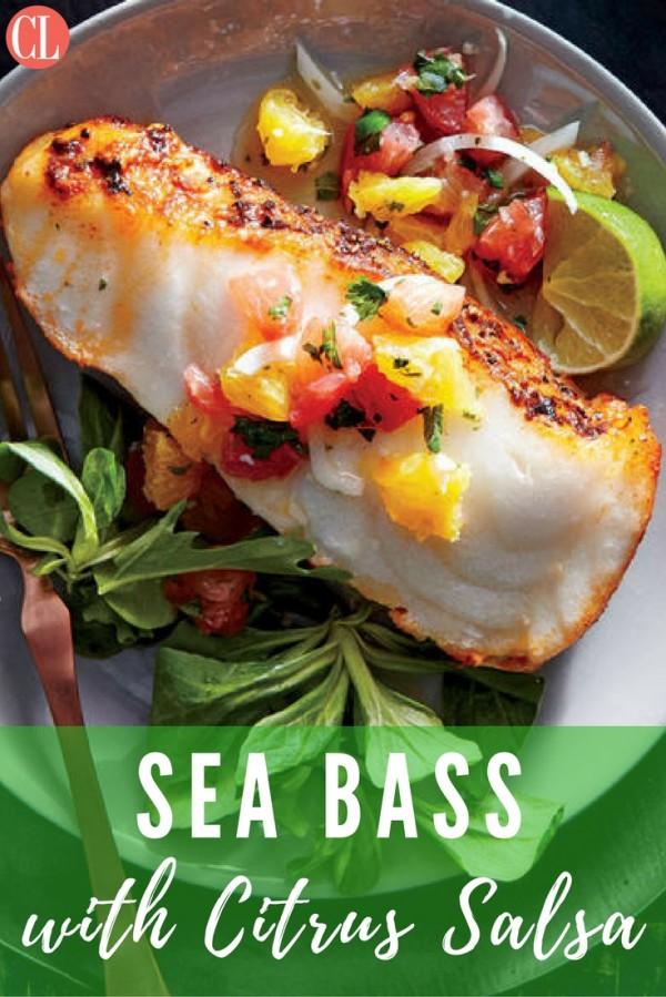 Get the recipe Sea Bass with Citrus Salsa @recipes_to_go